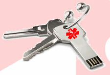 "USB Medical Alert ""Key 2 Life""- EMR - Medichip"