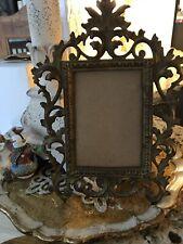 Antique Armolu Bronze Ornate Victorian Picture Frame