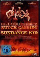 DVD | Die legendäre Geschichte von Butch Cassidy und Sundance Kid | 3 DVDs | Neu