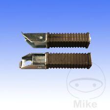 For Honda CB 450 N 1985 Footrest / Footpeg Rubbers (Pair)