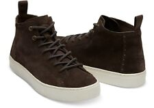 TOM'S..UK 8.5 / EUR 42.5..BNWT..LENOX MID HI TOP TRAINERS BOOTS SUEDE SHOES TOMS