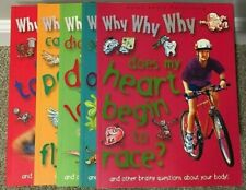 Why Why Why - Miles Kelly Publishing - Children's Books - Set of 5 Books - 2005