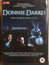 Jake Gyllenhaal Patrick Swayze DONNIE DARKO ~ Cult Classic Director's Cut UK DVD