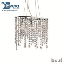 Ideal Lux Rain Sp3 Lampada a Sospensione metallo cromo (f7f)