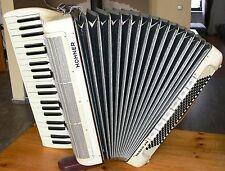 HOHNER TANGO VM 120 Bass GERMANY fisarmonica аккордеон akordeon con valigia cinghie