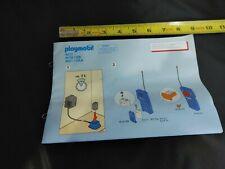 Vintage Playmobil Electric RC Train Set Railroad Toy Train 4021 4017 4019 Manual