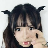 Devil Wings Bat Wings Hair Clip Cosplay Halloween Dress-up Costume Accessor TN_N