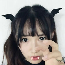 Devil Wings Bat Wings Hair Clip Cosplay Halloween Dress-up Costume Accessorie @