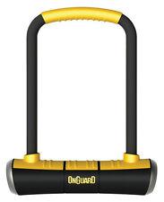 Onguard Fahrrad Bügelschloss Pitbull STD 8003 115x230 mm mit Halter