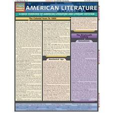 BarCharts- Inc. 9781572226135 American Literature