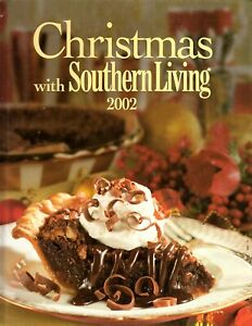 Christmas With Southern Living 2002 Hardcover - Cookbook and Craft Projects