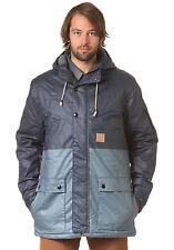 ETNIES 'Dusselburg' Men's Padded Hooded Winter Waxed Jacket Size S NEW