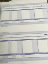 SAGE PAYSLIPS COMPATIBLE BLUE x 160 80 Sheets 2/sheet