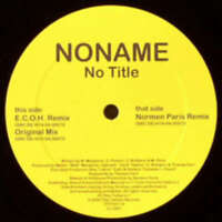 "Noname - No Title (12"") Vinyl Schallplatte 168162"
