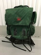 Vintage Forest Green REI Trekker Wonderland External Frame Pack.