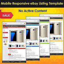 Mobile reattivo eBay Listing Template Asta 2017 Approvato HTML-UNIVERSALE