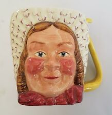 "KELSBORO WARE HAND PAINTED CHARACTER JUG ""MRS BARDELL"" FROM PICKWICK SERIES"