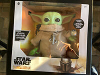 STAR WARS BABY YODA THE CHILD PLUSH WITH ACCESSORIES MANDALORIAN TOY FIGURE