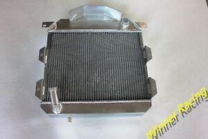 Aluminum Radiator For Austin Healey 100-4 1953-1956 MT 2 Row 56mm Core