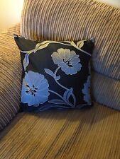 4 X 18 pulgadas De Moda Plata y Negro Cushion Covers..? por qué comprar de ahora?