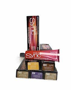 Matrix Sync Demi-Permanent color/Ammonia-Free 2 oz -Select Your Favorite-