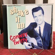 CONWAY TWITTY SHAKE IT UP ROCK N ROLL ROCKABILLY CD