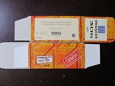 BOITE VIDE NOREV  PEUGEOT  305 1977  EMPTY BOX CAJA VACCIA