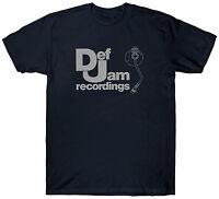 DEF JAM RECORDINGS T SHIRT TOP MUSIC