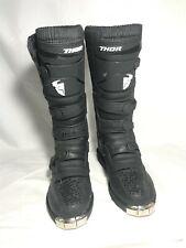 Thor Blitz XP Boots Motorcycle Motocross Boots Men Black Size 10