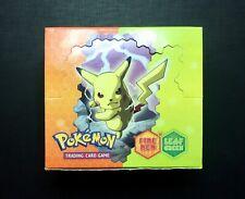 Pokemon Booster Box Eng Ex Fire Red vs Leaf Green VUOTO - EMPTY