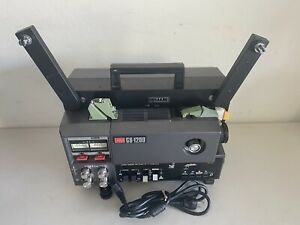 ELMO GS-1200 Super8 Stereo Sound Movie Projector See Description & Pics Nice!!