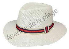 Chapeau style Panama pour homme, taille 58, chapeau paille été neuf