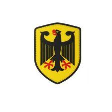 Bundesadler Patch 3D Rubber Adler Deutschland Bundeswehr Polizei 8x6cm#22977