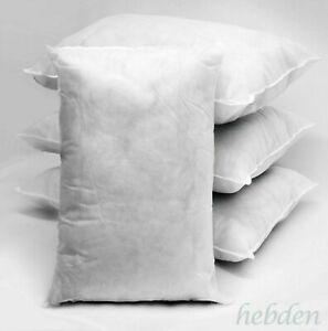Customised Hollowfibre Rectangle Oblong Cushion Pads Insert Inner Scatter Pillow