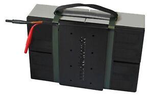 Batterieblock für MZ Elektroroller Charly 2 (II) | Rot / Schwarzer Stecker