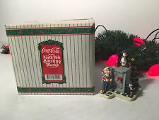 NEW VINTAGE COCA-COLA BRAND NORTH POLE BOTTLING WORKS #71007 ALL IN A DAYS WORK