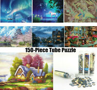 Puzzle Adult Kid 150 Pieces Small Wooden Jigsaw Decompression Game Toy Gifts lot