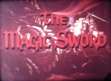 THE MAGIC SWORD (1962) Super 8mm Color SOUND complete feature 80 min 800'+1200'