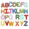 26Pcs Alphabets Magnetic Letters Wooden Fridge Magnets Stickers Kids Children