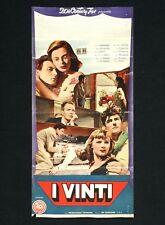 I VINTI locandina poster Antonioni Interlenghi Mocky Anna Maria Ferrero G31