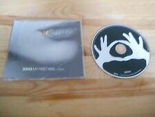 CD Indie 3OH!3 / Kesha - My First Kiss (1 Song) Promo PHOTO FINISH sc