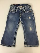 True Religion Billy Boys Super T Jeans, Size Age 2, Denim Blue, Vgc