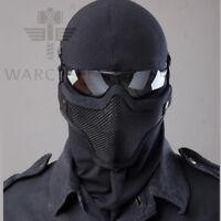 Protective Outdoor Military Hunting Black Mask Tactical Mesh Half Face Masks