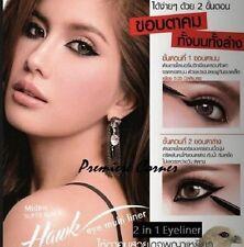 MISTINE SUPER BLACK HAWK 2 in 1 Eye Multi Liner Eyeliner Waterproof Black Color