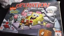 Nickelodeon Sponge Bob Squarepants Operation MB Milton Bradley board game