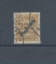 Dt. Reich Dienstmarken Nr. 83, sauber gestempelt, siehe Bild.
