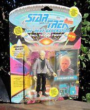 1993 Playmates Star Trek Next Generation Action Figure Admiral Leonard McCoy MOC