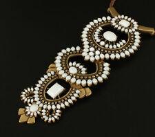 Phoenix Havana Pendant Necklace Brand Designer Vintage Resort Cream Stones Jewel