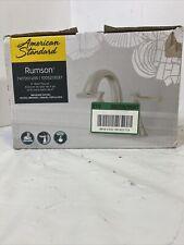 American Standard Rumson 4 in. Bathroom Faucet in Brushed Nickel 7417201.295