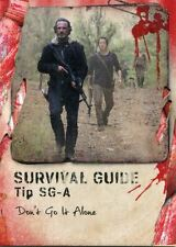 Walking Dead Survival Box Survival Guide Chase Card #SG-A Don't Go It Alone
